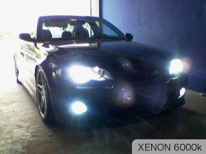 fari xenon 6000k su BMW