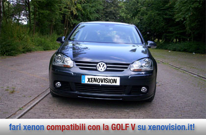 kit fari xenon compatibile con la Volkswagen Golf V