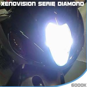 Fari Xenon per moto 6000 k su xenovision.it