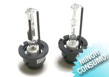 lampade xenon: consumano meno (35kw) e scaldano meno