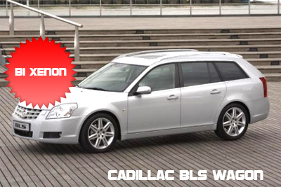 Cadillac BLS Wagon con fari Bi Xenon