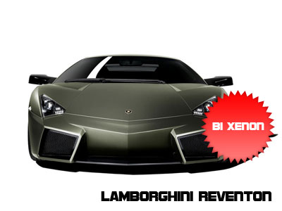 Lamborghini Reventon con fari bi-Xenon