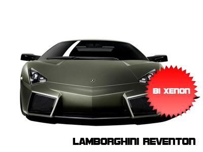 Lamborghini Reventon con fari bi-Xenon