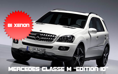 Mercedes Benz Classe M con fari Bi Xenon