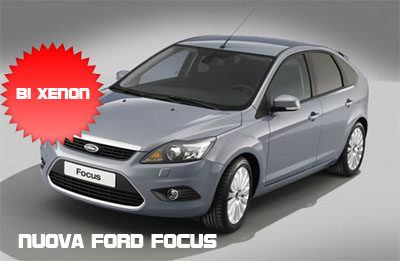 Nuova Ford Focus con fari bi-Xenon