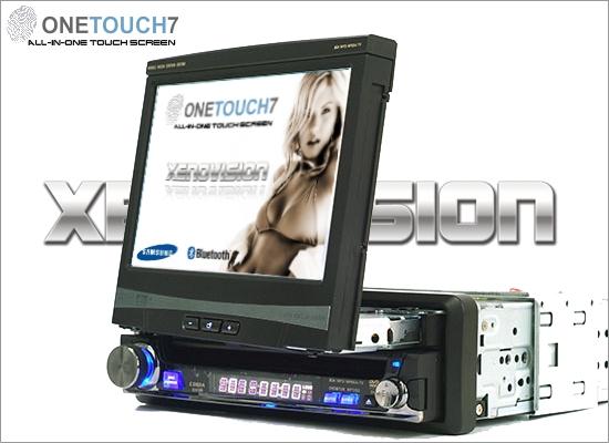 Schermo LCD per auto OneTouch: Bluetooth, DVD, DivX