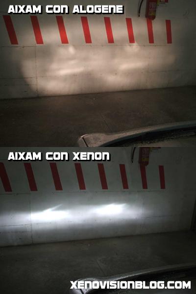 Montare fari Xenon sulle minicar e microcar: una Aixam con fari Xenon DiamondBASE H4 6000k di Xenovision