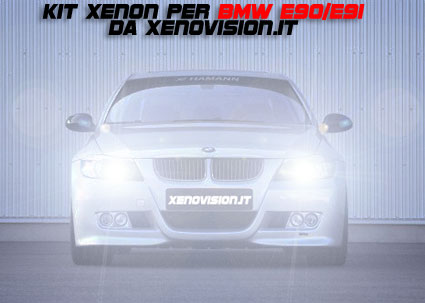 kit Xenon BMW E90 E91