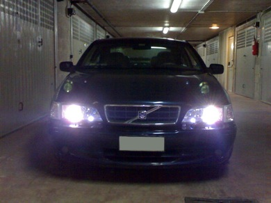 Kit Xenon DiamondSTAR 6000k su Volvo C70