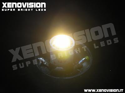 Xenovision Led Auto - Luci posizione LED 1 Watt - 20 Lumen - Tecnologia DPR