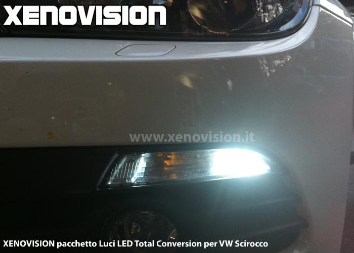 Scirocco luci posizione LED xenovision