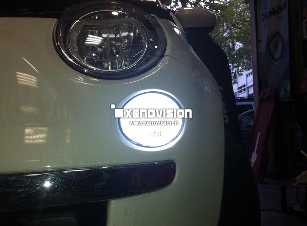 Luci DLR Led per Fiat 500 xenovision