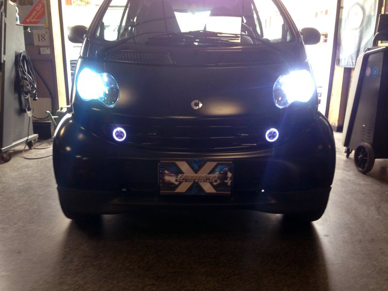 smart angel eyes led